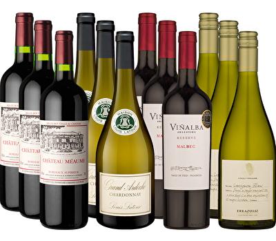 Christmas Premium Selection 12 Mixed Wine Case