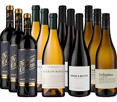 Christmas Luxury Selection 12 Mixed Wine Case