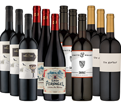Christmas Classics 12 Red Wine Case