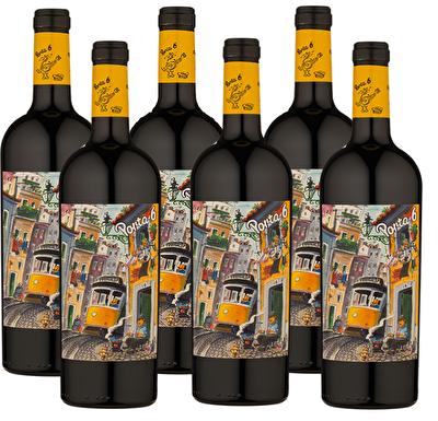 Porta 6 Red 6 Bottle Wine Case