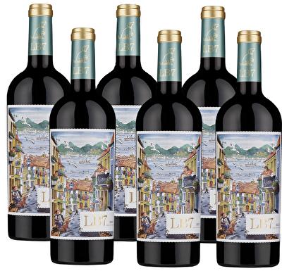 LB7 Lisboa Red 6 Bottle Wine Case