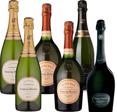 Laurent-Perrier Champagne Mixed Wine Case