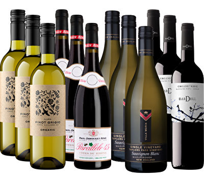 Organic Selection 12 Mixed Wine Case