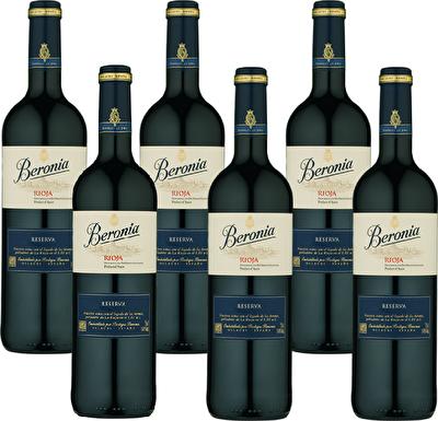 Beronia Rioja Reserva 6 Bottle Wine Case